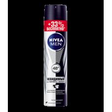 NIVEA Дезодорант спрей Невидимый для черного и белого 150+50мл