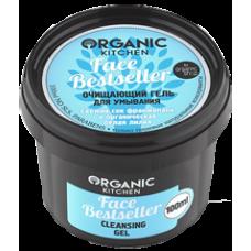 """Organic shop KITCHEN Гель для умывания очищающий """"Фэйс Бестселлер"""" 100 мл."""
