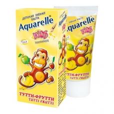 Aquerelle Kids Зубная паста Тутти-фрутти  50 мл.