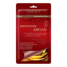 Shary Марокканская аргана  для лица на тканевой основе 20 г.