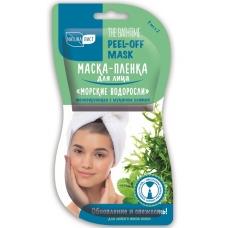 Маска-плёнка для лица «Морские водоросли» Тонизирующая