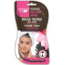Маска-плёнка для лица «Чёрный уголь» Глубокоочищающая