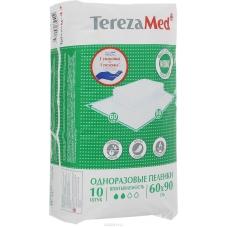 TerezaMed Пеленки одноразовые впитывающие Normal 60 x 90 см 10 шт