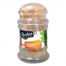 Qualita Зубочистки бамбуковые 200 шт.