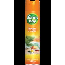 Освежитель воздуха Sunny Day Мечты о море 300мл.