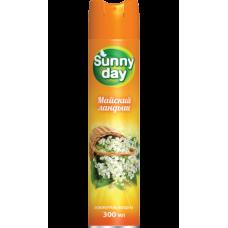Освежитель воздуха Sunny Day Майский ландыш 300мл.
