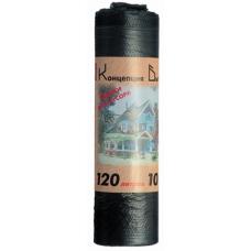Мешки для мусора СТАНДАРТ 120л. 10шт. в рулоне ПНД