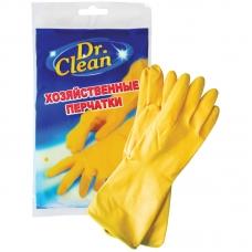 Перчатки резиновые Dr. Clean хозяйственные XL