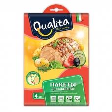 Qualita Пакеты 30*40 см. 12 мкм в конверте 4 шт.