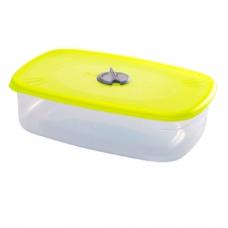 Емкость прямоугольная для СВЧ с паровыпускным клапаном 0,75 л