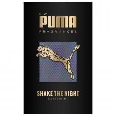 Puma Туалетная вода мужская Shake The Night  50 мл.
