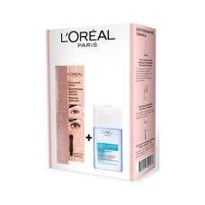 L'Oreal Paris Подарочный набор Тушь для ресниц PARADISE + Средство для снятия макияжа