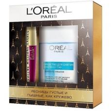 L'Oreal Paris Подарочный набор Тушь Volume Millions Lashes Фаталь + Средство для снятия макияжа