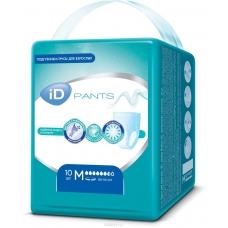 Подгузники-трусы iD PANTS размер L 10 шт.