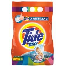 Стиральный порошок Tide Lenor Touch of Scent. Color автомат 1,5 кг.