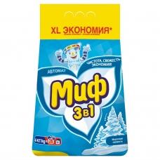 Стиральный порошок Миф Морозная свежесть 4 кг