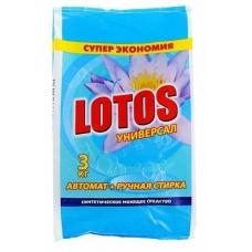 Стиральный порошок Лотос Универсал 3 кг.