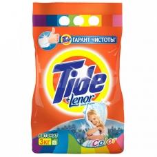 Стиральный порошок Tide Lenor Touch of Scent. Color автомат 3 кг.
