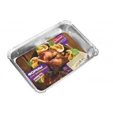 АКВИКОМП  Формы для запекания мясных блюд, 2,2 л, 3 шт.