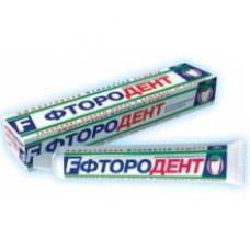 Зубная паста «Фтородент» в футляре 100г.