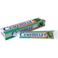 Лечебно-профилактическая зубная паста «Семейная» Кедровый эликсир в футляре 100г.