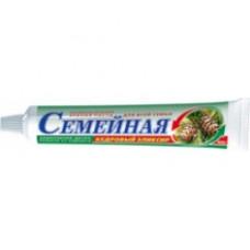Лечебно-профилактическая зубная паста «Семейная» Кедровый эликсир 100г.