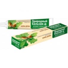 Лечебно-профилактическая зубная паста «Природный бальзам» Кора дуба в футляре 100г.