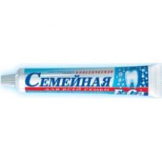 Лечебно-профилактическая зубная паста «Семейная» Фтор+Кальций 100г.