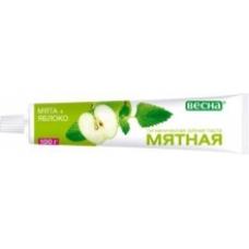 Зубная паста «Мятная»  Мята+яблоко 100мл.