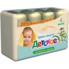 Крем-мыло «Детское» Череда 4*75г.