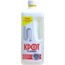 Чистящее средство для труб «Крот» Турбо-гель 1000мл.