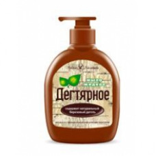 Жидкое мыло «Дегтярное» для тела и волос 300мл.