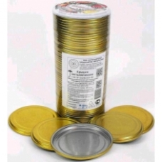 Крышки металлические для консервирования «Котельнические крышки» 50шт.