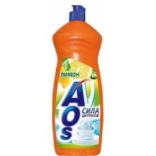 Моющее средство «AOS» Апельсин+мята 1000 мл.