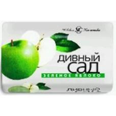 Мыло туалетное «Дивный сад» Зеленое яблоко 90г.