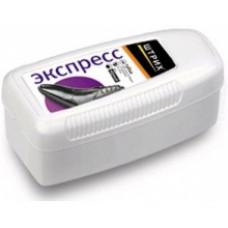 ШТРИХ Экспресс Губка для обуви «Плюс» Черная