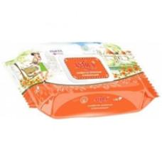 Amra Travel Влажные салфетки освежающие PRAGUE 120 шт.