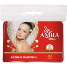 Amra Ватные палочки в пакете 200 шт.