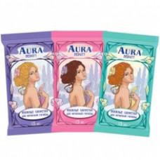 АУРА Beauty Влажные салфетки для интимной гигиены 15шт.