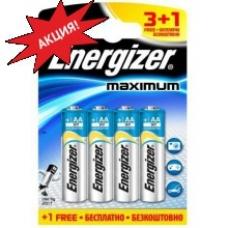 Батарейки Energizer MAXimum E91/AA 3+1 шт.