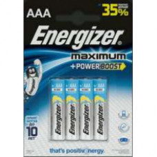 Батарейки Energizer MAXimum E92/AAА 4 шт.