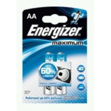 Батарейки Energizer MAXimum LR6/E91 АA 2 шт.