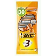 Bic Бритва Bic3 для чувствительной кожи 4 шт.