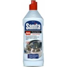 Чистящее средство SANITA крем Ультра блеск 600 мл.