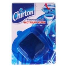 Chirton Чистящий кубик для унитаза Морской прибой 50г.