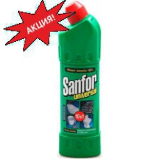 Чистящее средство SANFOR Universal 10в1 Свежесть лимона 750мл.