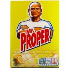 Чистящий порошок Mr. Proper для твердых поверхностей с ароматом лимона 400 г.