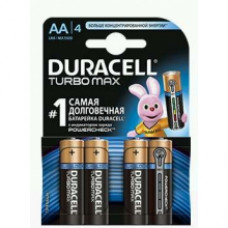 DURACELL Батарейка Turbo AA 1,5V LR6 4 шт.