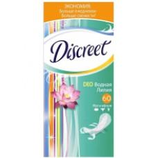 Ежедневные прокладки Discreet  Водная лилия 60 шт.