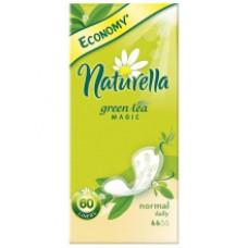 Ежедневные прокладки Naturella Green Tea Magic Normal с ароматом зеленого чая 60 шт.